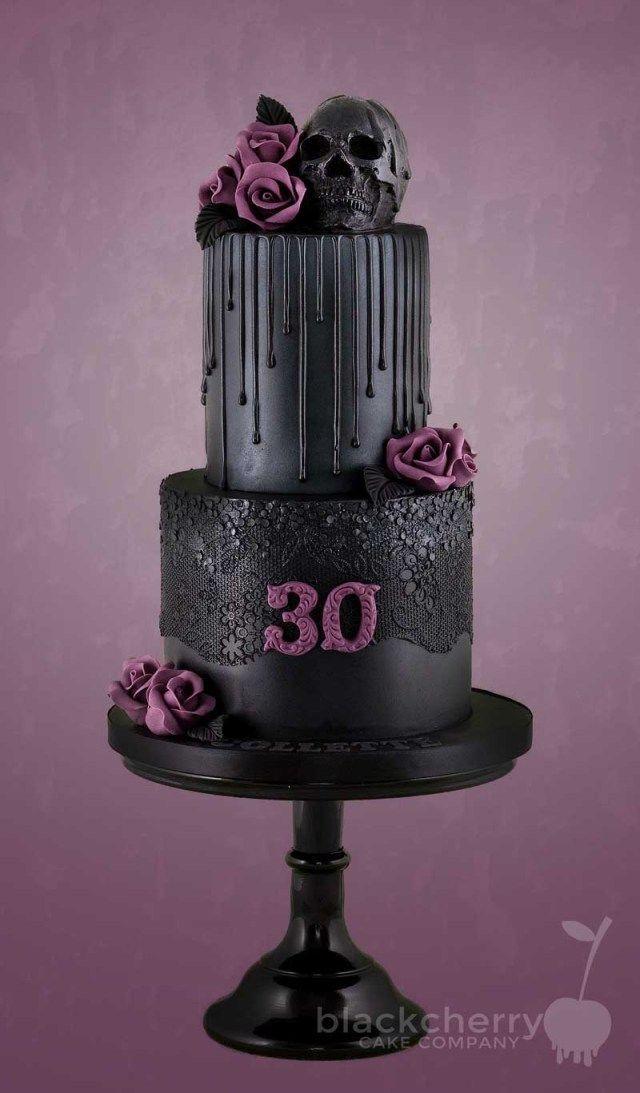30 Inspiration Bild von Gothic Birthday Cakes #gothic #gothicwedding   – gothic wedding