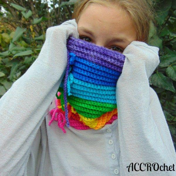 Rainbow,  patron de crochet disponible en français!