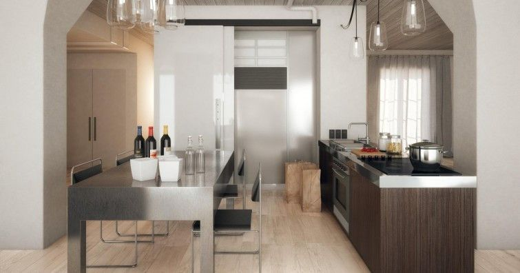 Marca Corona #Atelier Grey Strutturato 22,5x90 cm 8127 - küche fliesen boden