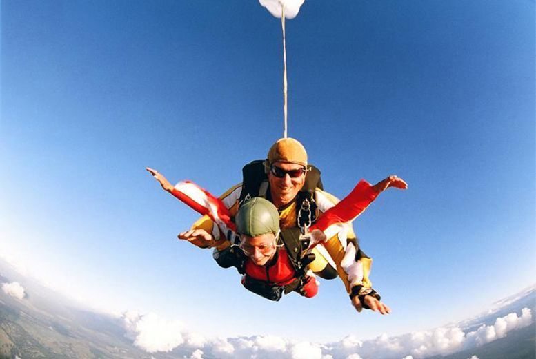 244 From Buyagift For A Tandem Skydive Including Safety Briefing And Equipment Skydiving Tandem Adventure Guide