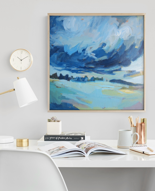 Colorfully curated pieces to make your styling your walls easy. Shop true blue designs from Minted's community of artists now.