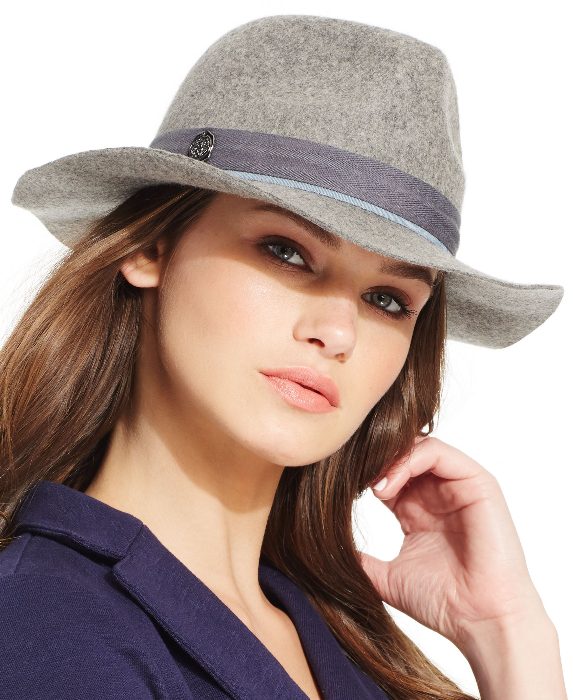 Vince Camuto Banded Travellers Panama Hat  41ed4f818a6b