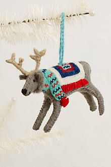 Alpine Wanderer Ornament - anthropologie.com