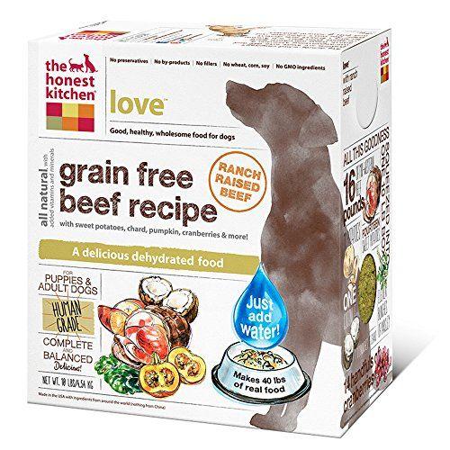 The Honest Kitchen Love Grain Free Dog Food - Natural Grade ...