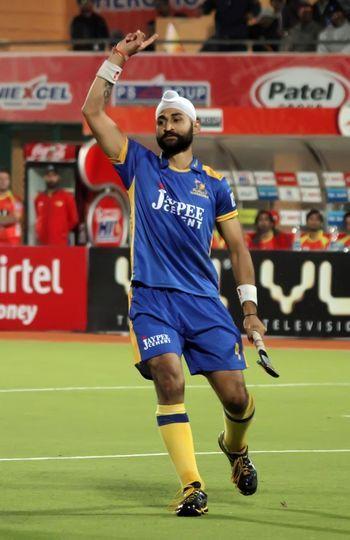 Sandeep Singh Aims Bigger In The Hero Hockey India League 2015 Hockey India League Singh League
