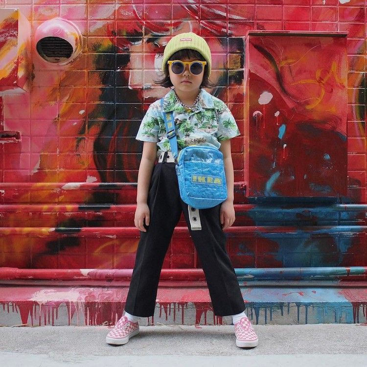 Essa E A Crianca Mais Estilosa Do Mundo Moda Urbana Feminina