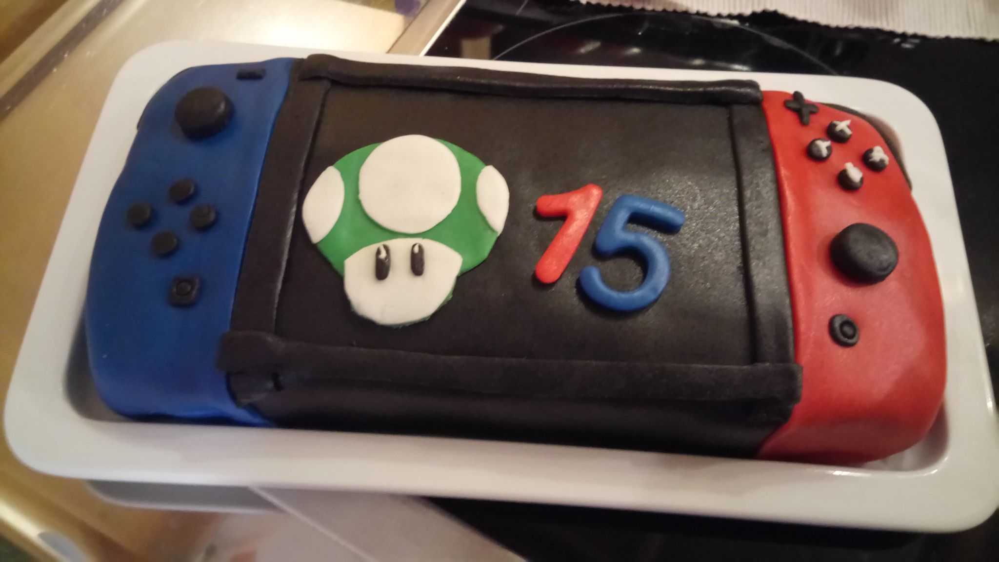 how to make a nintendo switch cake