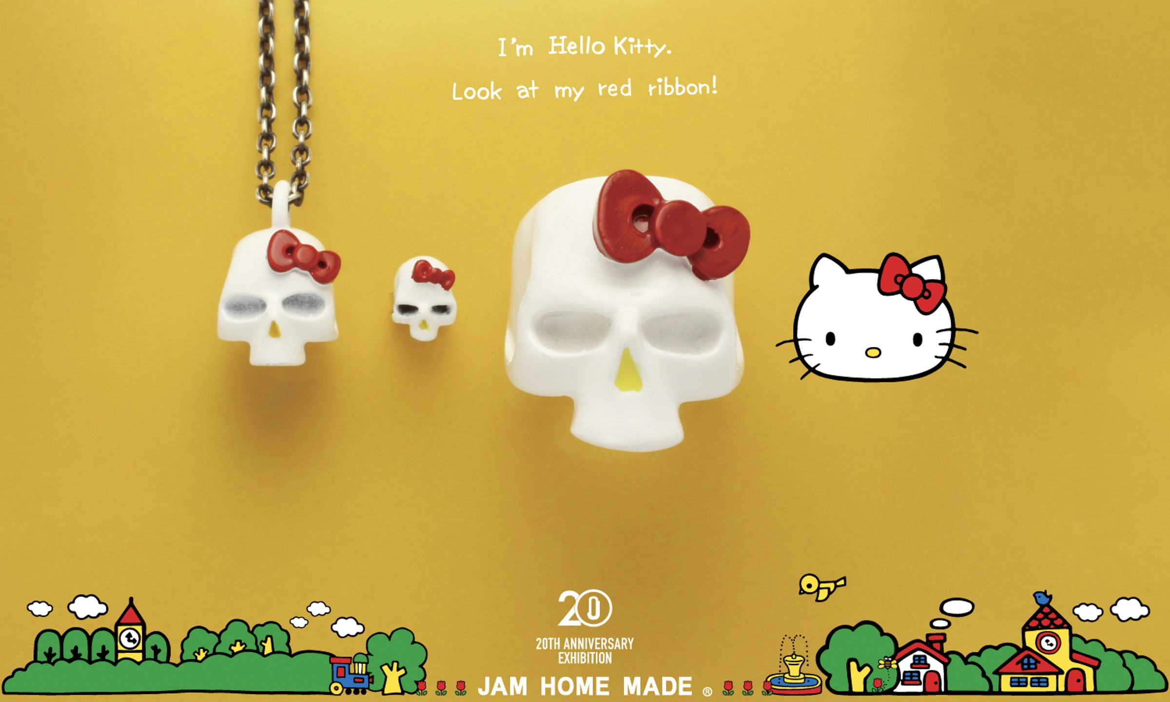 Pin by Ash Wang on Lookbook Red ribbon, Hello kitty