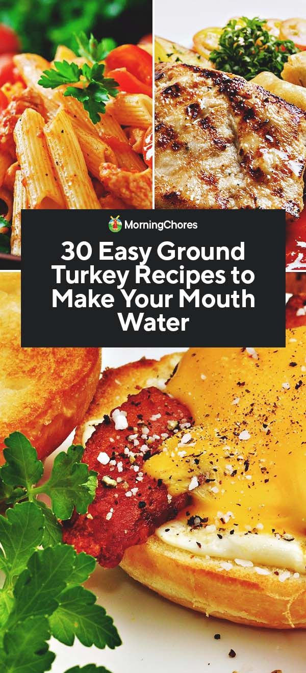 Photo of 30 Easy Ground Turkey Recipes to Make Your Mouth Water