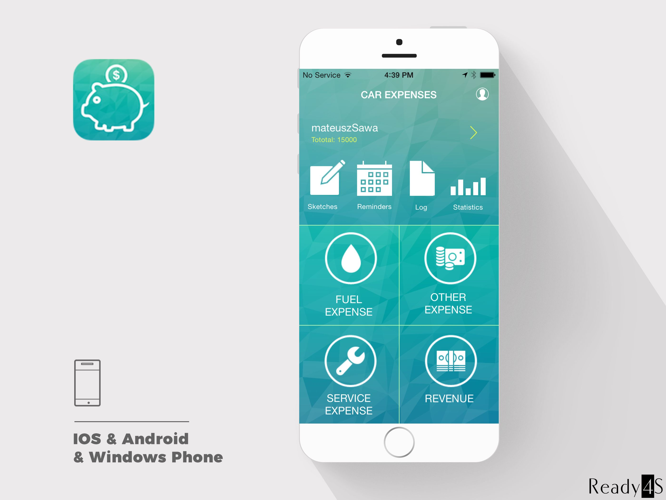 Car Expenses app helps to manage all the expenses