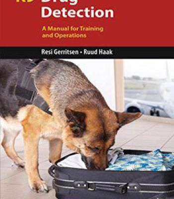 K9 Drug Detection A Manual For Training And Operations Pdf Dog