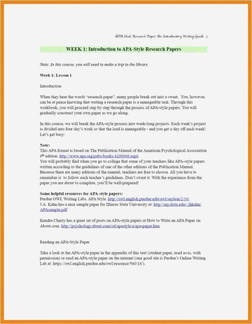 Apa Style Research Paper Te Appendix Example Floss Papers