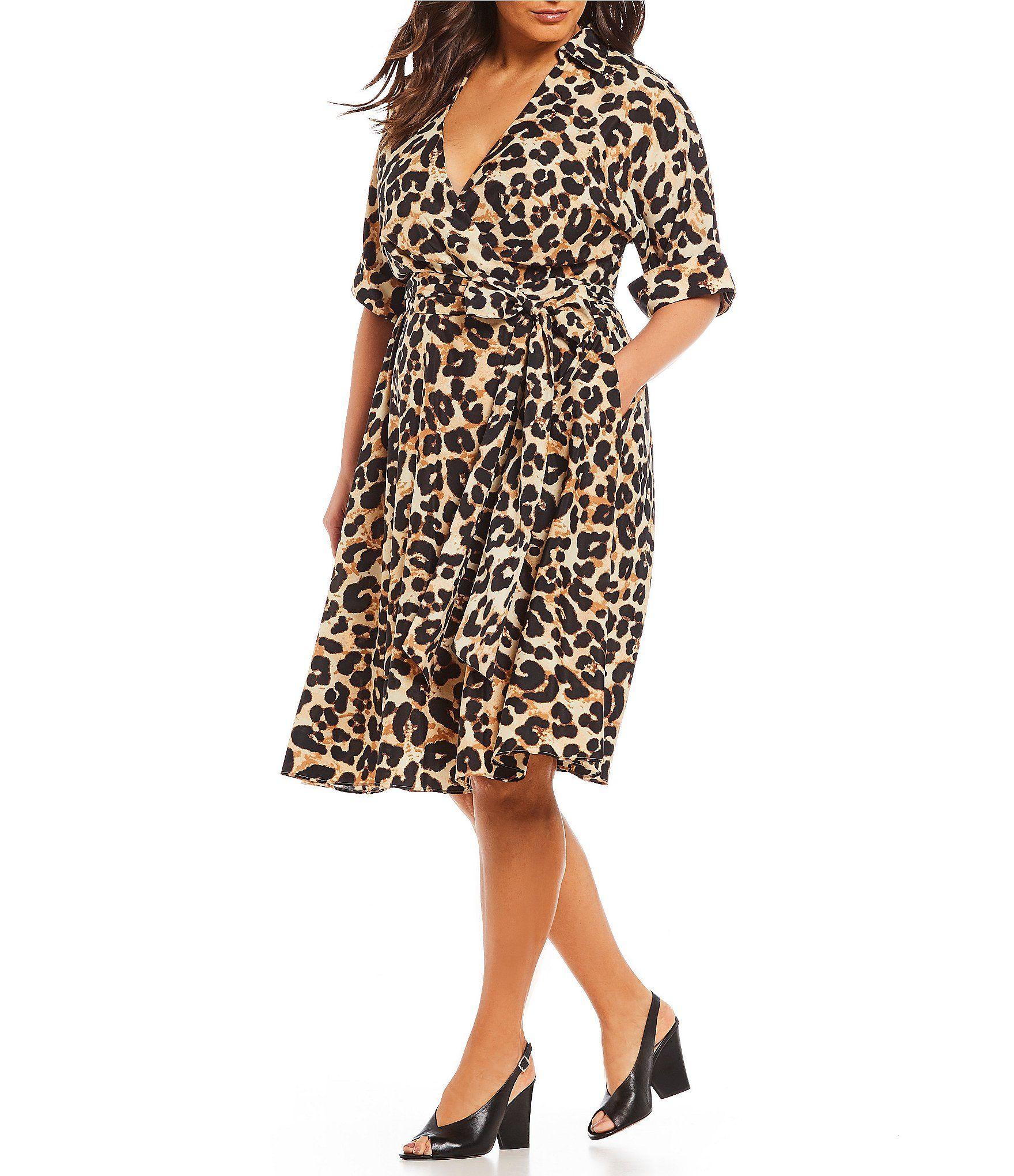 16+ Plus size animal print dress ideas