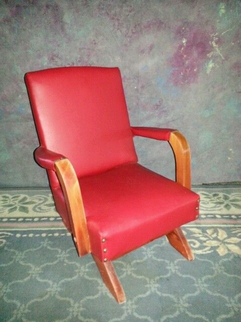 Acme Furniture Vintage Childs Platform Rocker Rocking
