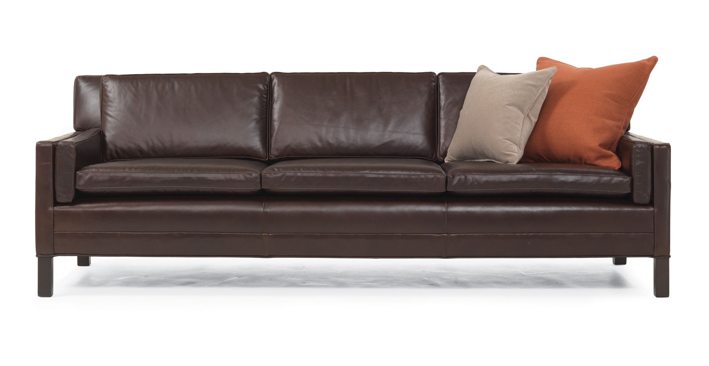 extra long leather sofa. Extra Long Leather Couch - Whitman Collection (for The Office Someday) Sofa H