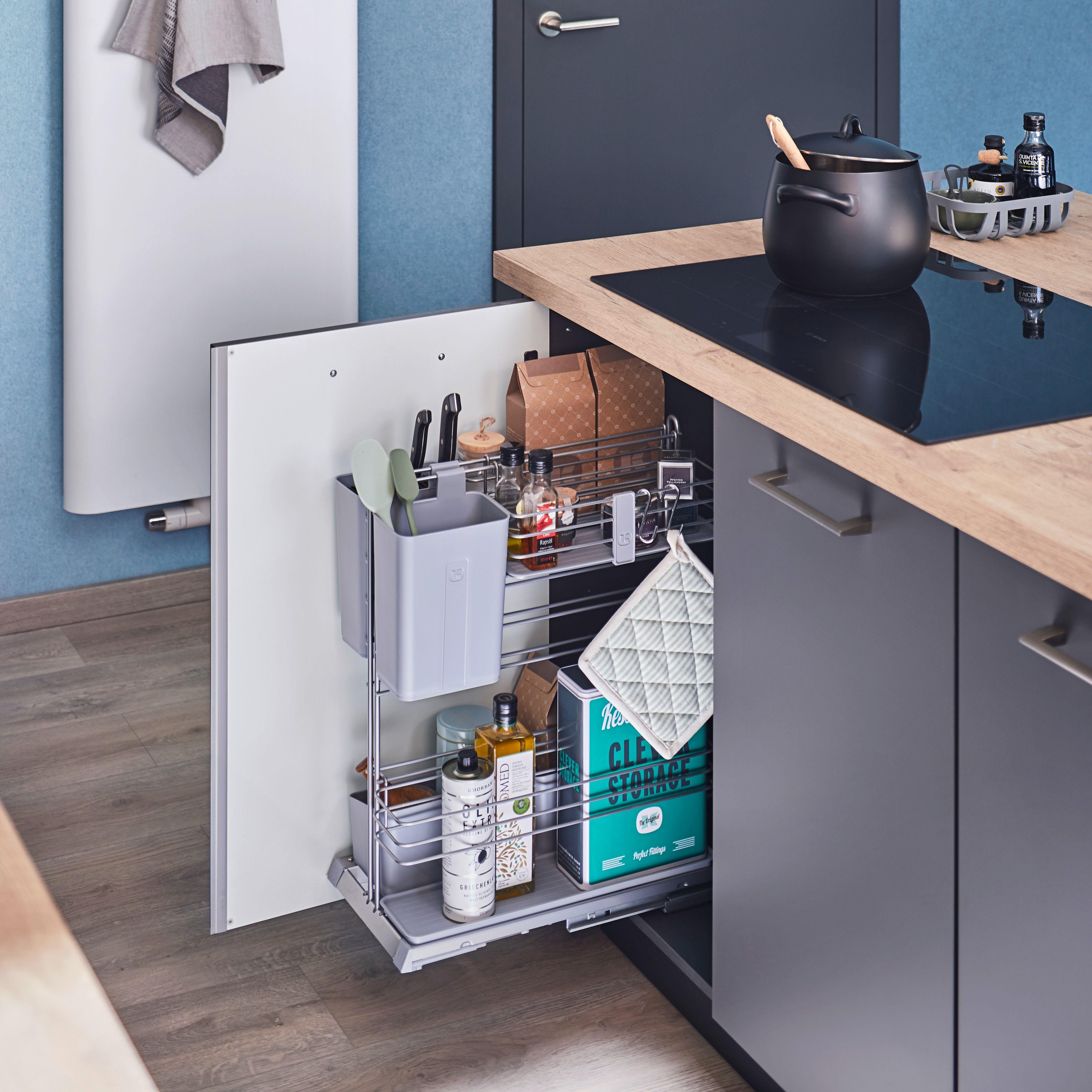 Pin Von Kessebohmer Auf Kitchen Unterschrank Platzsparende Mobel Kuchen Planung