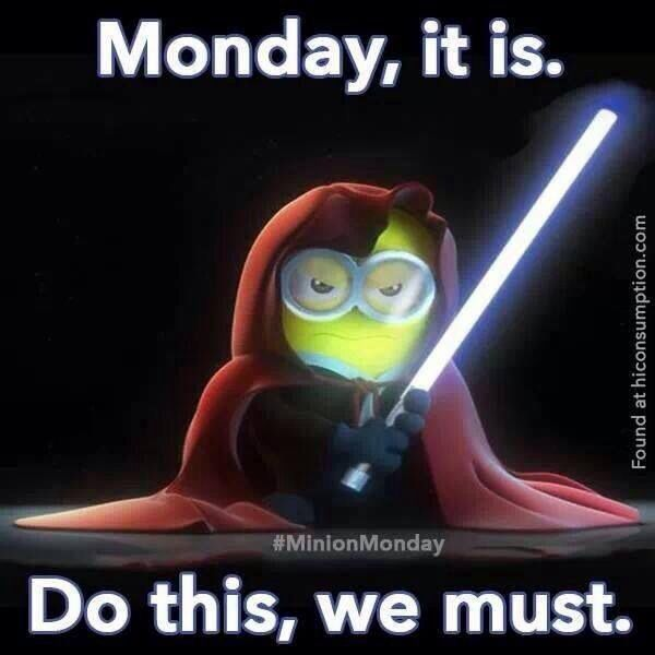 Monday Morning Humor Quotes: Minion Quotes About Monday. QuotesGram