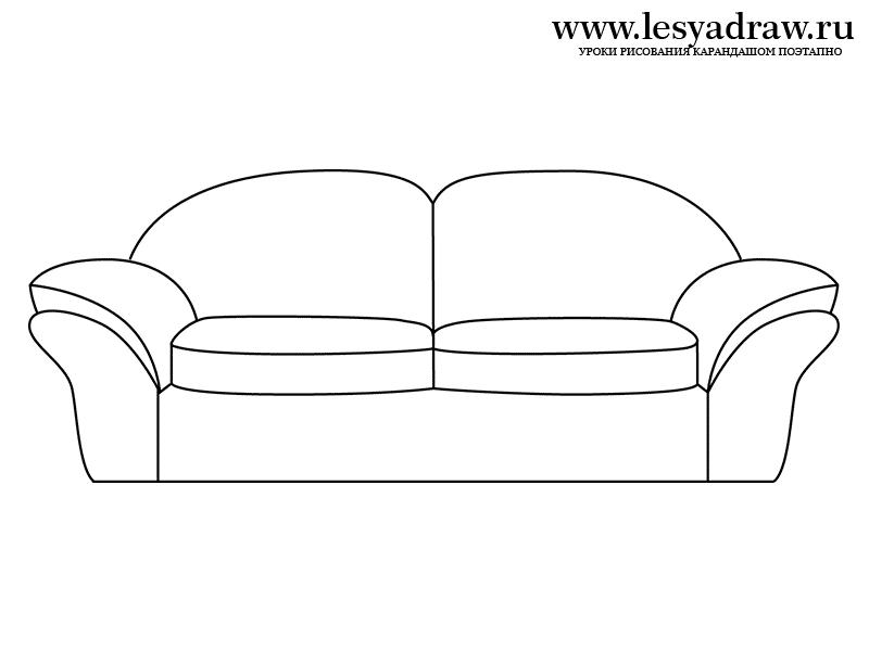 Bildergebnis f r sofa gezeichnet schablonen muster for Sofa zeichnen kinder