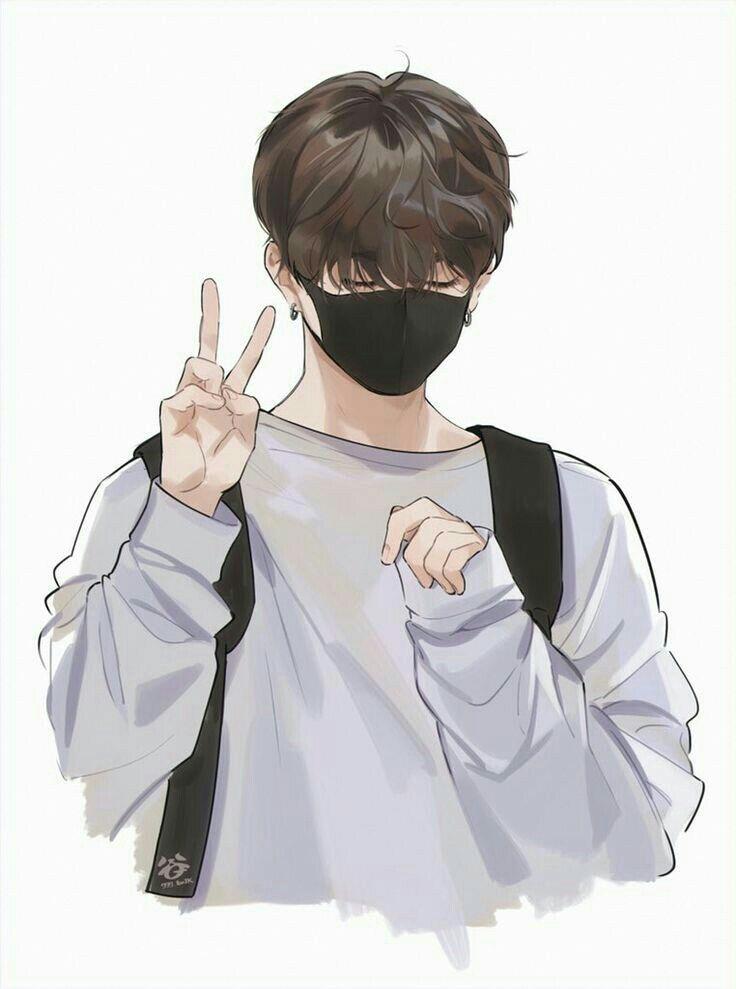 Wallpaper Cool Cover Cerita Wattpad Cowok Hits Jungkook Fanart Handsome Anime Cute Anime Guys