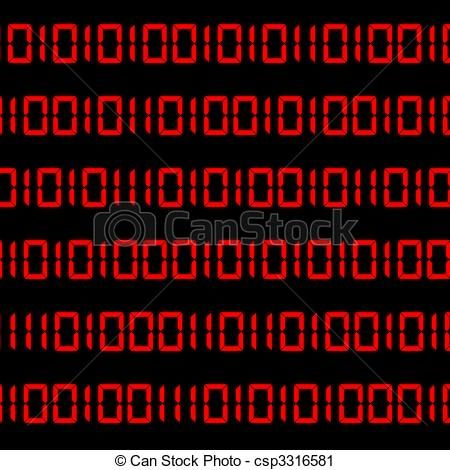 Clipart Of Binary Code Digits Binary Digit Computer Language Code Csp3316581 Search Clip Art Illustration Dra Binary Code Stock Illustration Clip Art