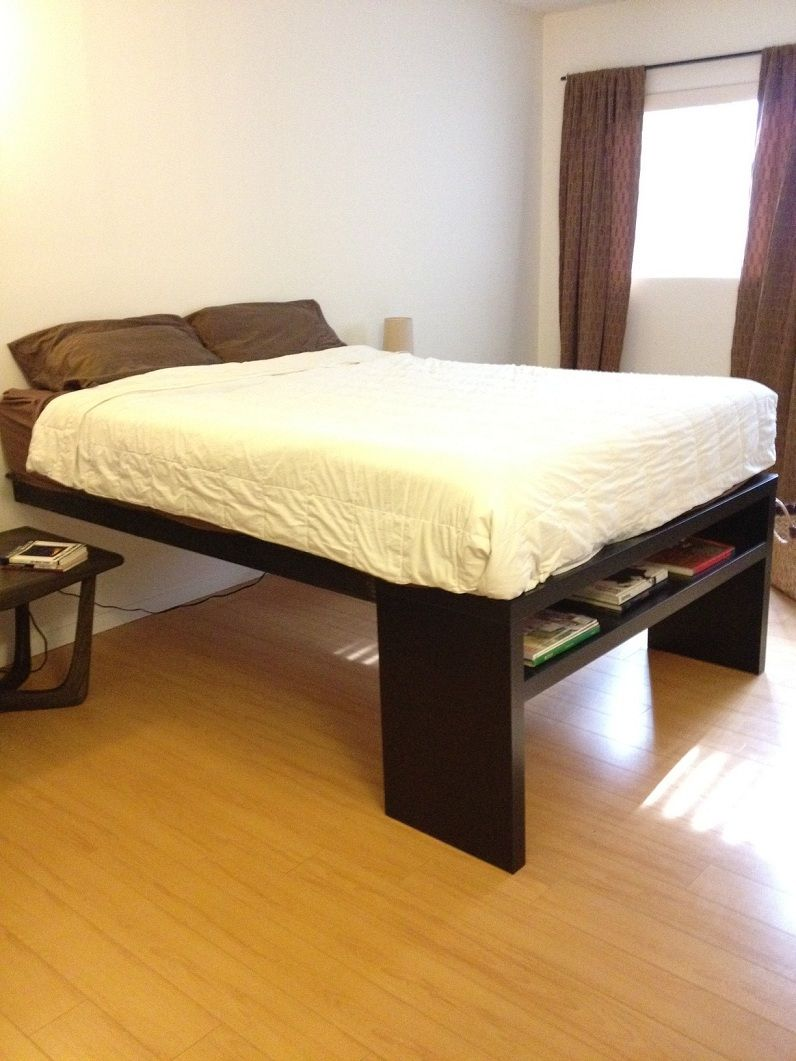 Lack Sofa Table Platform Bed For The Home Ikea Bed