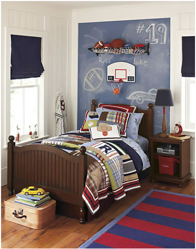 Boys Sports Bedroom young boys sports bedroom themes | design inspiration of interior