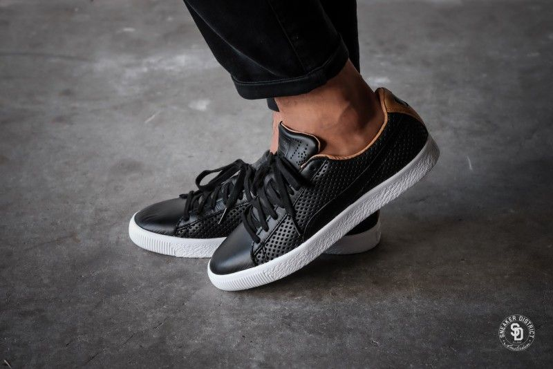 23d4ff50eb7 Puma Clyde Colorblock 2 Puma Black - 363833-02