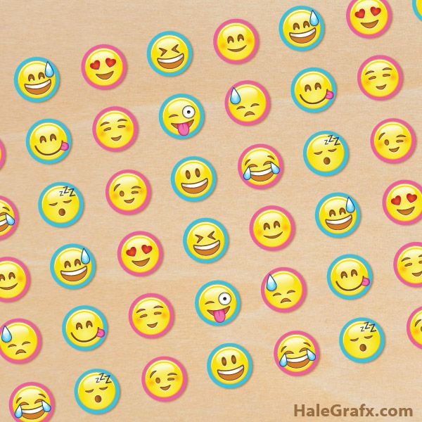 photo relating to Printable Emoji Stickers titled No cost printable Emoji Hershey Kiss Stickers Emoji