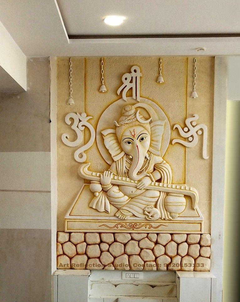 Pin By Arushidobhal On Siporex 3d Murals Stone Wall Art Buddha Wall Art Clay Wall Art