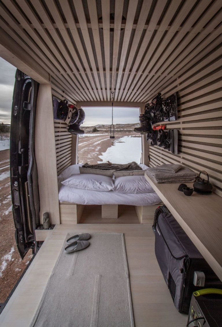 Photo of The Ryovan Project: Japanese Teahouse-inspired Van Build #Architect #Conversion …