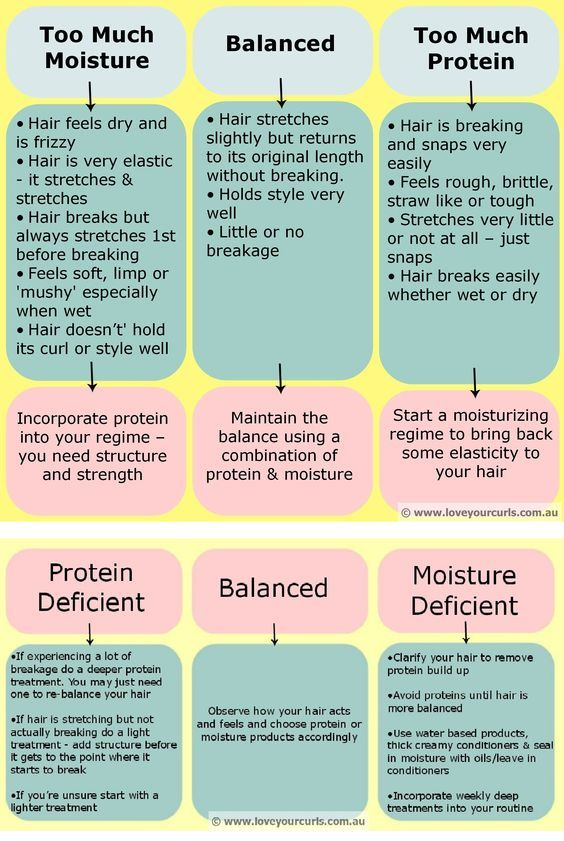 Deep Conditioning For Protein Vs Moisture The Big Difference