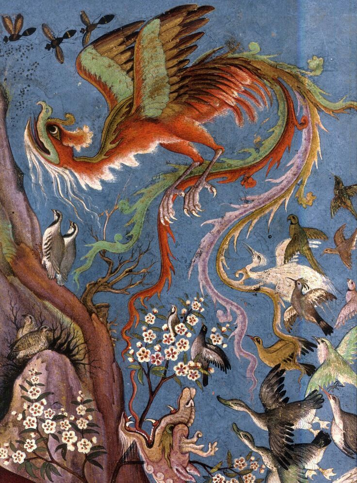 Pin by チルチル on Mughal Art | Islamic art, Art, Mythical birds