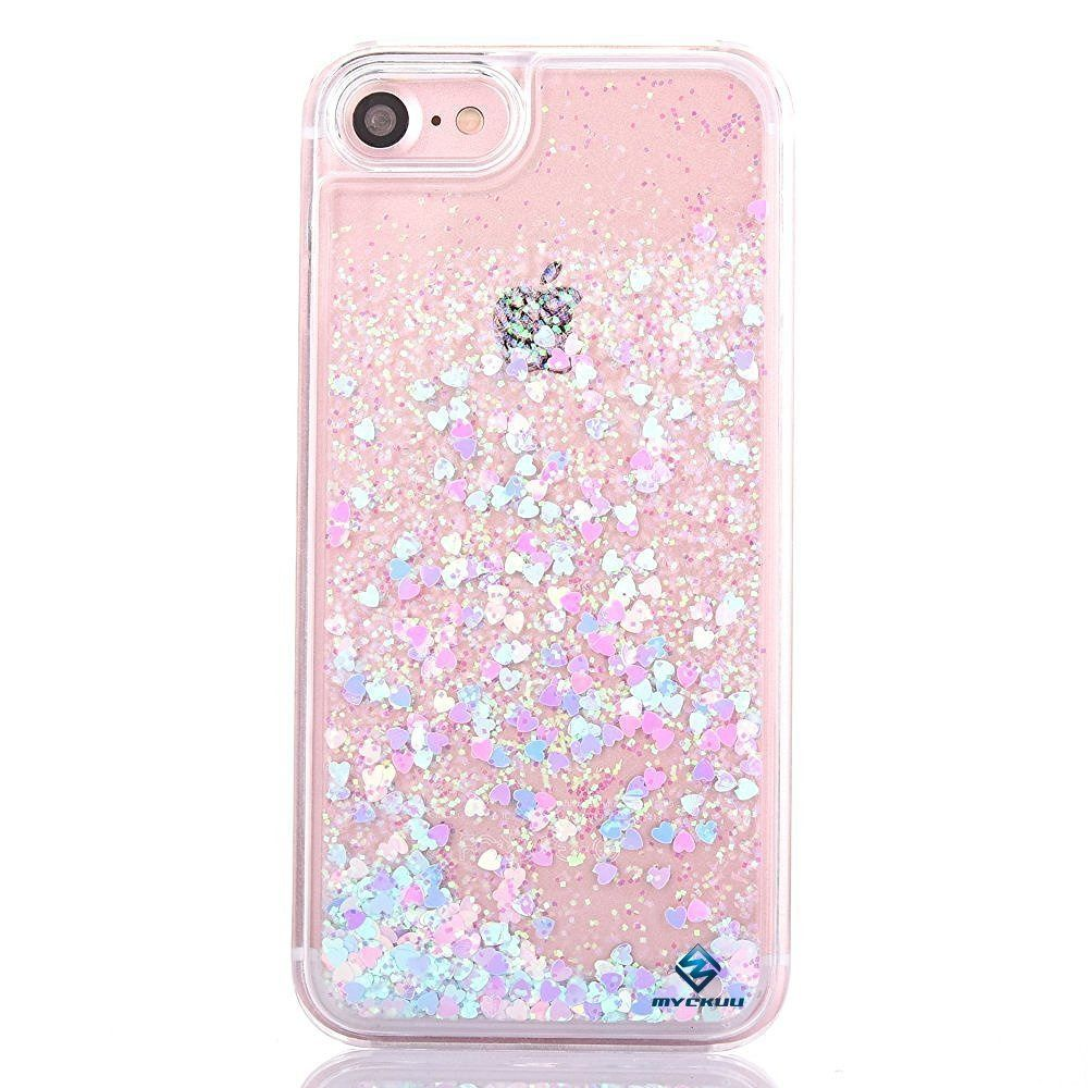 iPhone 6s Cover 6 Case Liujie Liquid Quicksand Moving Star Flowing Bling  Glitter cad94d3a66e9