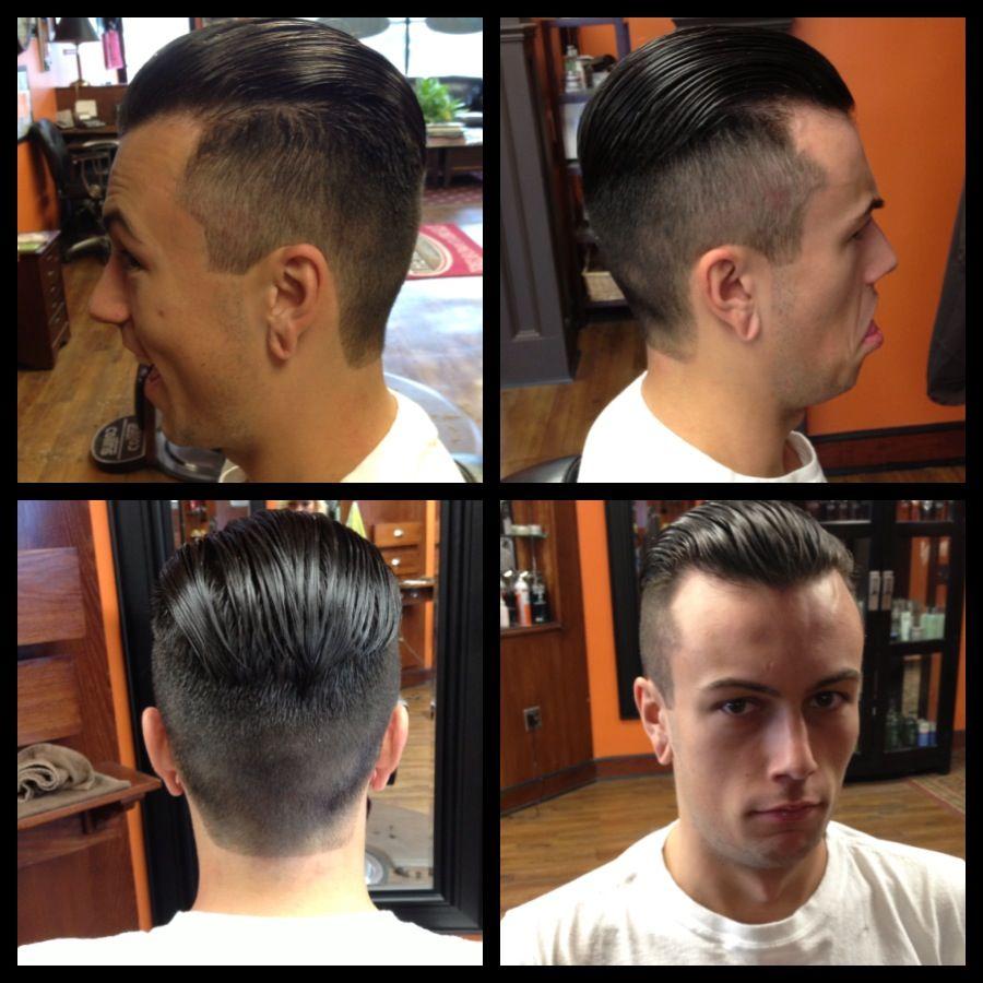 men's haircut | haircut | mens slicked back hairstyles