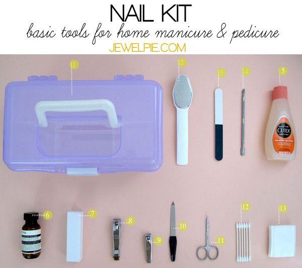 aestheticians kits | Building a basic manicure kit | JewelPie | DIY ...