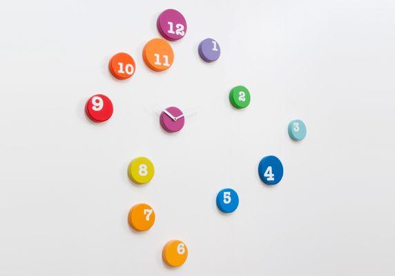 Progetti - colorful clock