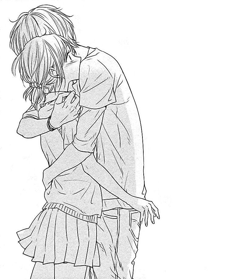 Download Manga Hiren Trip: Hiren Trip Tumblr Manga Shoujo Love Romance Couple Hug Boy