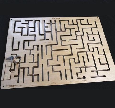 Key maze puzzle ii escape room puzzle and prop maze for Escape puzzle