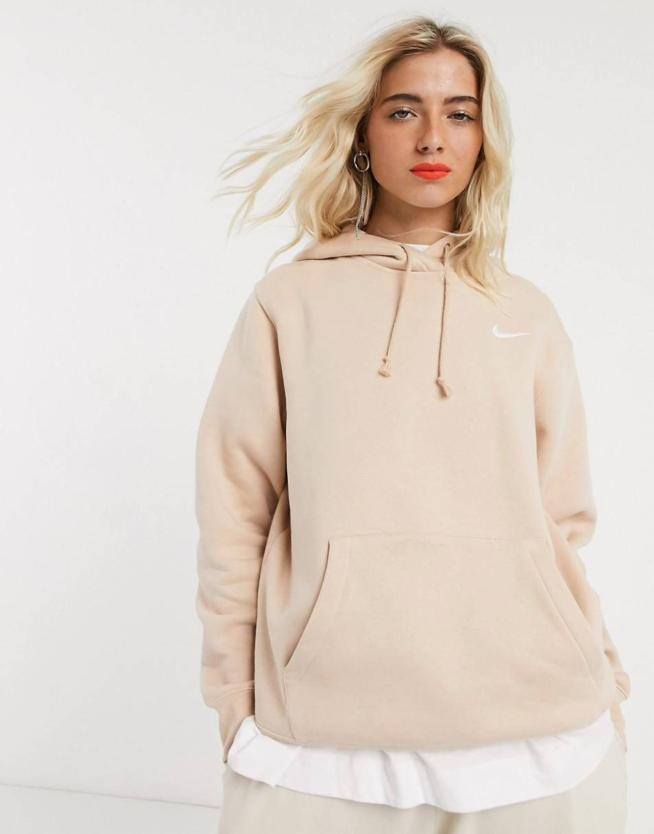 Women S Sweatshirts Women S Hoodies Asos Nike Hoodie Outfit Sporty Outfits Fitness Wear Outfits [ 1215 x 952 Pixel ]