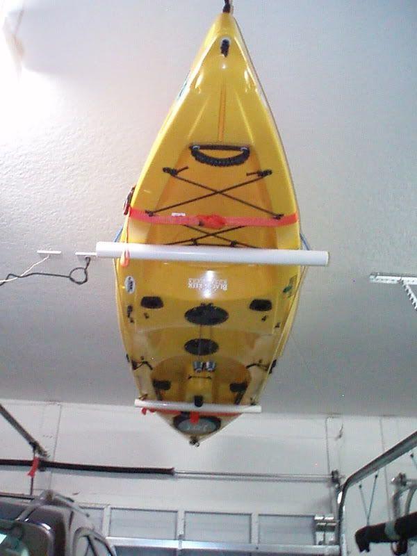 PVC Ceiling Storage For Kayak