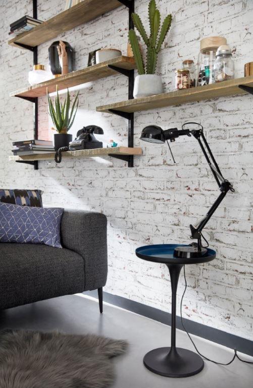 lampe de bureau colours tutti noir en 2019 inspirations. Black Bedroom Furniture Sets. Home Design Ideas