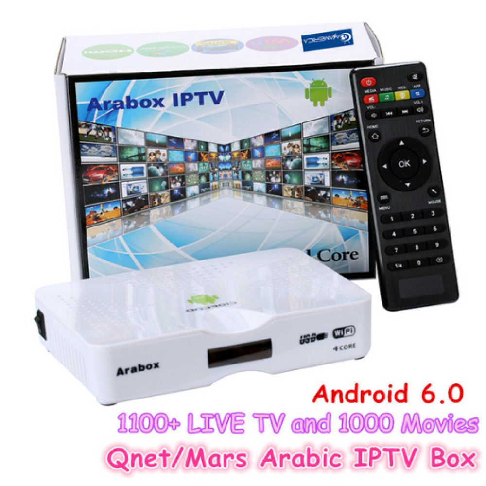 Arabic/Turkish/French TV Box IPTV Android Streamer 1300+ Channels