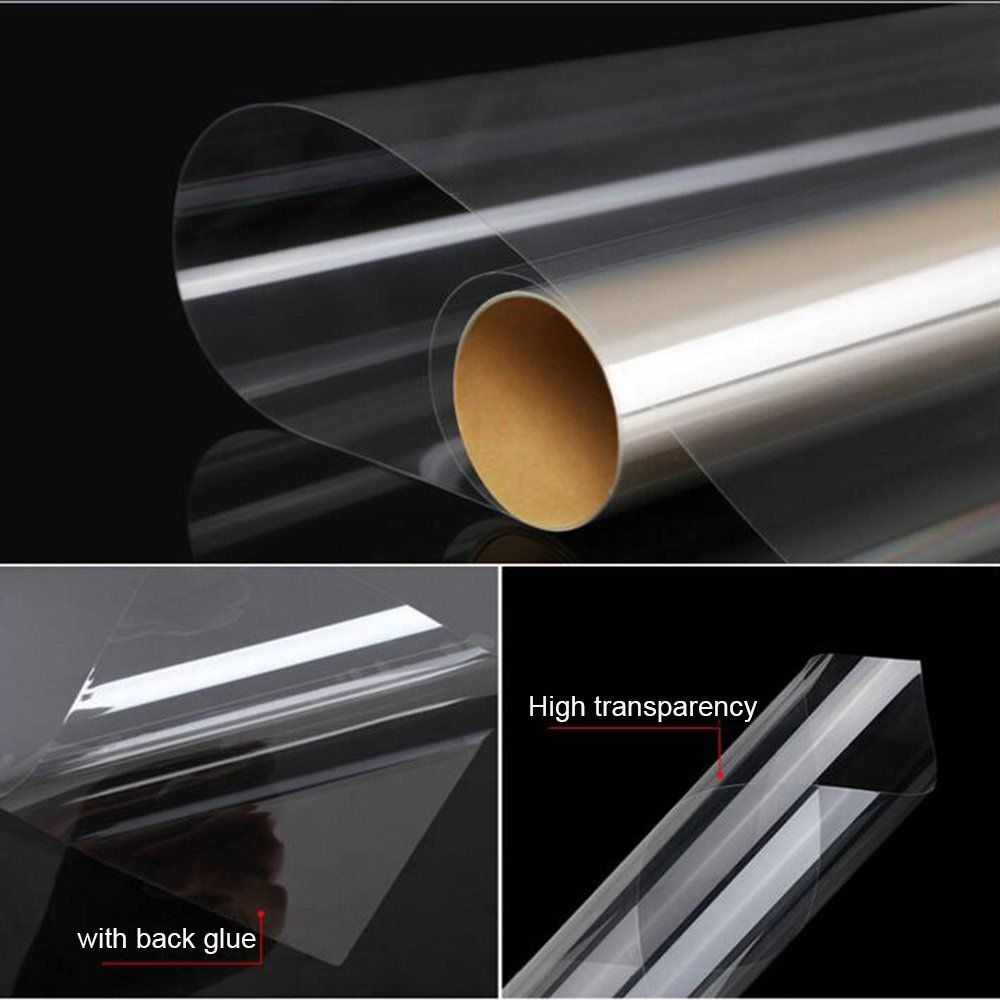HOHO 27x39 Transparent Safety Window Film Explosionproof