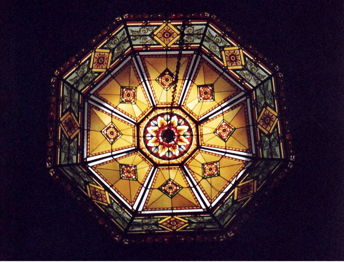 stained glass dome by france vitrail international paris http. Black Bedroom Furniture Sets. Home Design Ideas