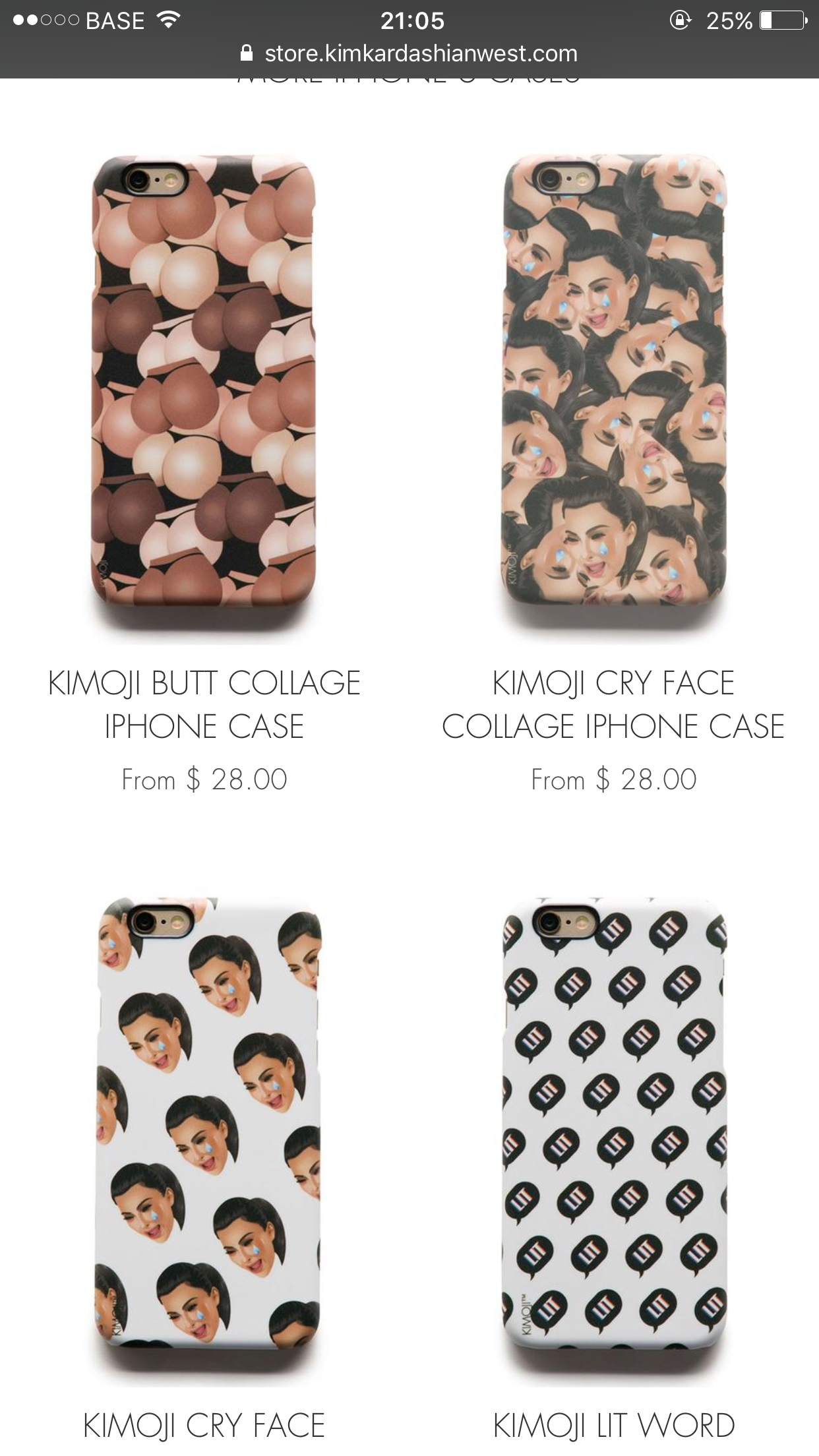 Kimoji iPhone Case for h Girls 😝