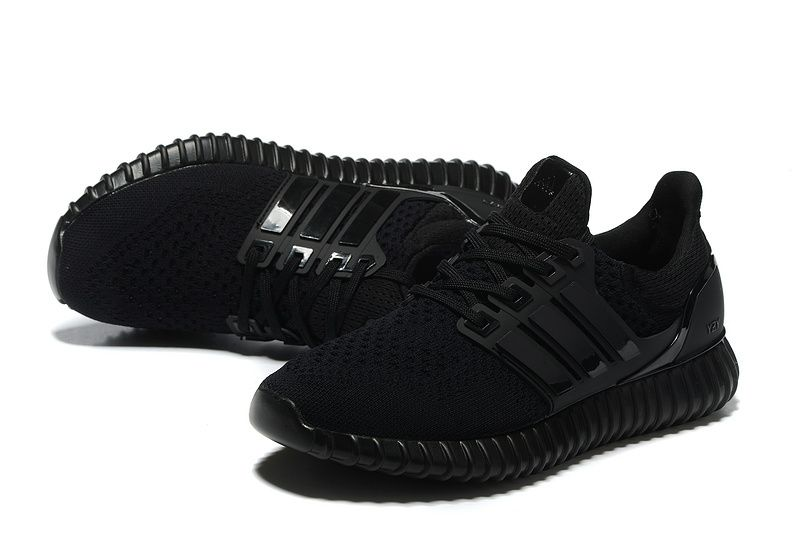 2016 2017 UK Trainers Adidas Yeezy Ultra Boost 2016 David Beckham All Black  Anthracite Spring Summer Running Shoes