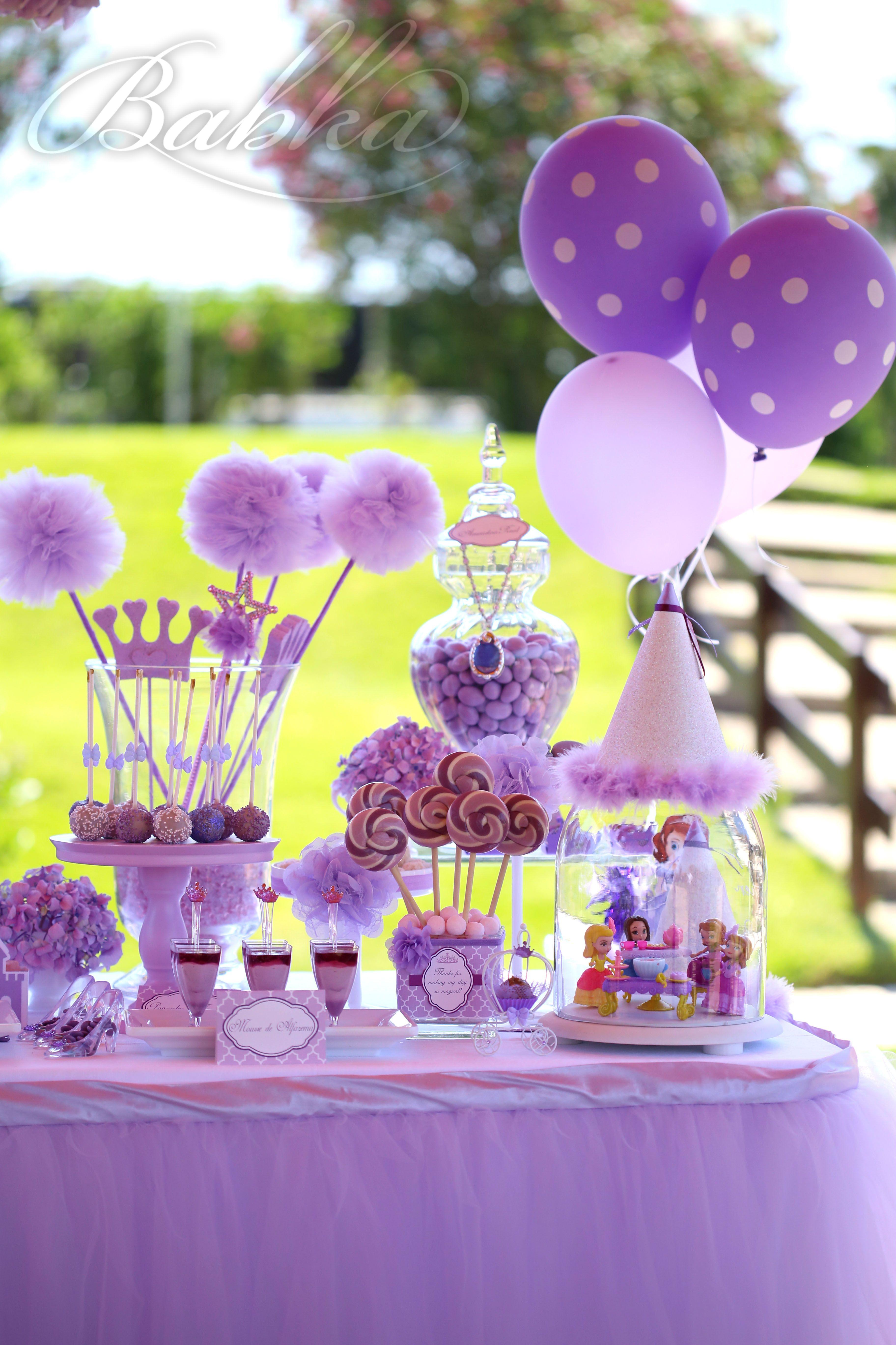 Sofia Princess Party, Party Decor, event planner | Princess Sofia ...