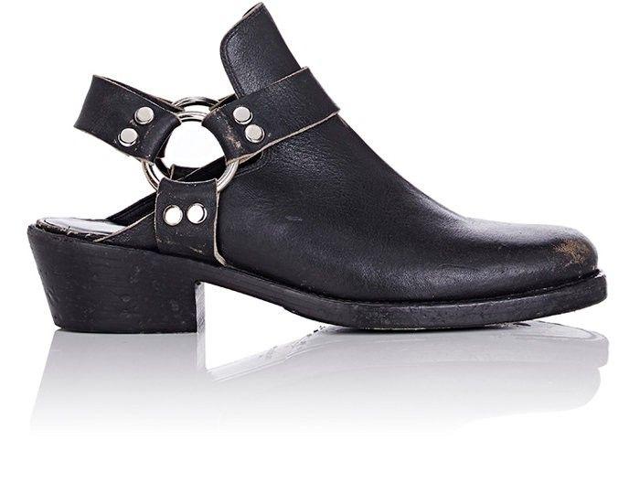 024c2d3f90b4 BALENCIAGA Harness-Strap Leather Mules.  balenciaga  shoes  all ...
