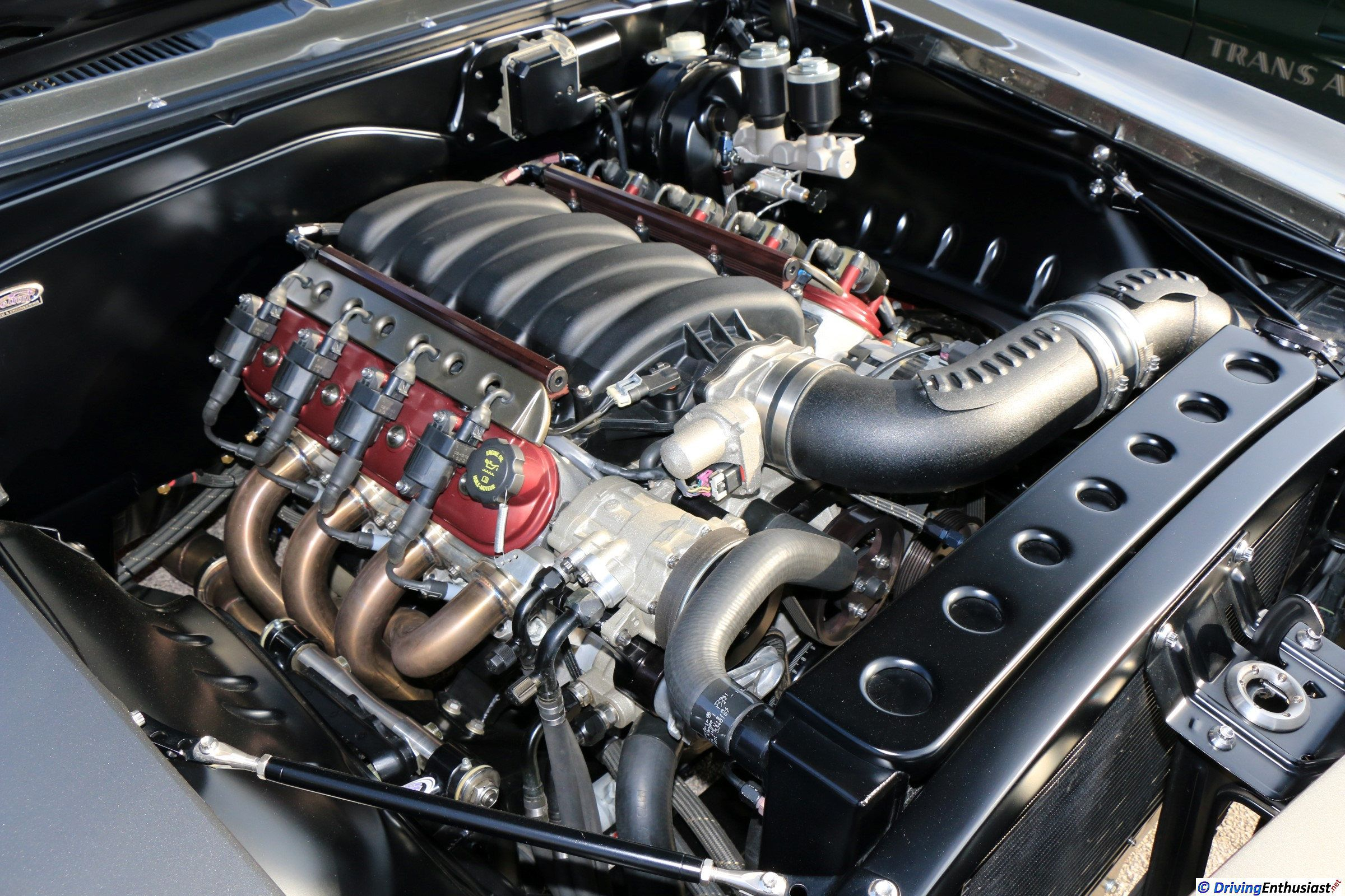 1967 Camaro with GM LSx engine swap. As shown at the
