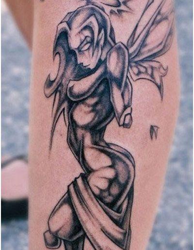 Evil Fairy Tattoo Design